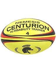 Centurion Nemesis Size 4 - Pelota de rugby ( entrenamiento ) , color amarillo, talla Size 4