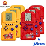 #6: PNT Handy Batter Operated Video Game for Return Gift Purpose. (6 Pieces).