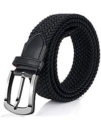 Fairwin Cintura in Tessuto Elastico, Cintura Elastica larga 1.3 Pollici, 2019 Novità Cintura in Tessuto Nuovo Fibbia Tessuto Donna/Uomo