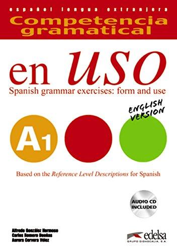 Competencia gramatical en uso A1 - libro del alumno + CD - Versión inglesa (Gramática - Jóvenes Y Adultos - Competencia Gramatical En Uso - Nivel A1)