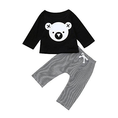 MEIbax Mädchen Jungen Cartoon Koala Sweatshirts T-Shirt Tops -