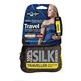 Sea to Summit Silk Stretch Liner Traveller mit Kapuze - Seiden Schlafsack