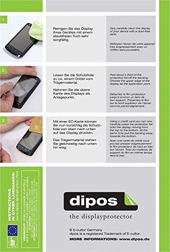 Sony DSC-HX350B Schutzfolie - 6x dipos Displayschutzfolie Folie matt