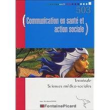 Communication en santé et action sociale Tle SMS