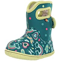 BOGS Baby Wellingtons Printed Waterproof Kids Boots UK 3-9 (UK 8, Turquoise Multi)