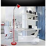 DLewiee Moderna Junto A La Cama De Forma Creativa Den Salón Dormitorio Lámpara De Pie Lámparas De Lectura Vertical