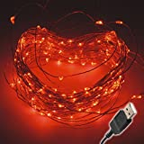 brighttouch LED String luces, rosso