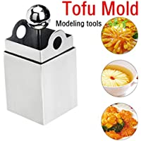 Prevently Brand New High Quality Creative Attractive Stainless Steel Tofu Maker Press Mold Kit Modeling Tools Pressing Mould Kitchen Tool Delicious Gift