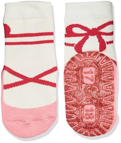 Sterntaler Baby - Mädchen Socken Glitzer - Flitzer AIR Ballerina 8131718, Gr. 18, Rosa (geranie 723)