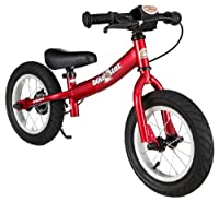 bike*star 30.5cm (12 Inch) Kids Child Learner Balance Running Bike - Sport - Colour Red
