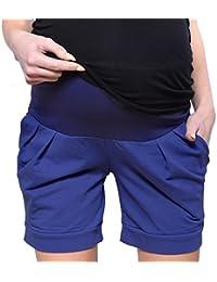MijaCulture Shorts de Maternidad Cortos/Pantalones de Maternidad para algodón de Verano 1047