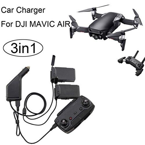 3 in1 KFZ-Ladegerät für DJI Mavic Air