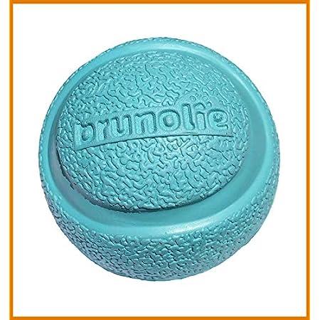 brunolie Hundeball aus 100% Naturkautschuk, robuster Hunde-Spielball mit idealen Sprung- und Schwimmeigenschaften für kleine und große Hunde, 1-Stück