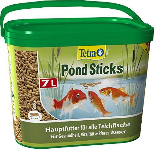 Tetra Pond Sticks (Hauptfutter für alle Gartenteichfische in Form von schwimmfähigen Sticks), 7 Liter Eimer - 4