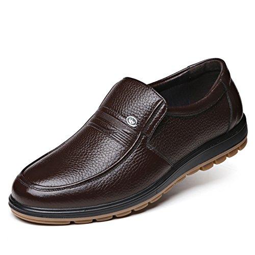 Chaussures en cuir pour hommes/Résistant à l'usure respirant chaussures/Chaussures hommes casual Business B