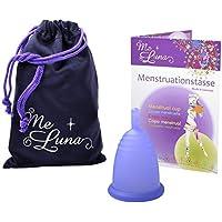 Me Luna Coupe menstruelle Sport, manche, bleu/violet, taille M