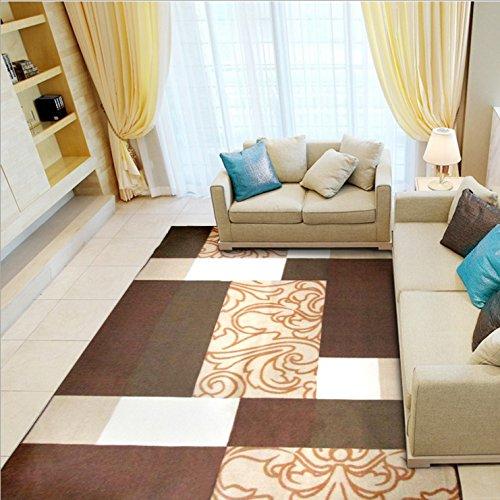 KOOCO 133 X 190 CM Europäische/amerikanische Art und Weise Teppiche für Wohnzimmer Home...
