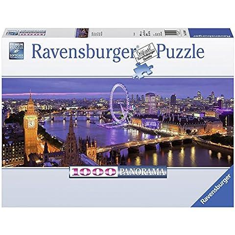 Ravensburger - Puzzles 1000 piezas, diseño Londres por la noche (15064 9)