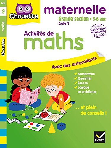Maths Grande Section 5-6 ans