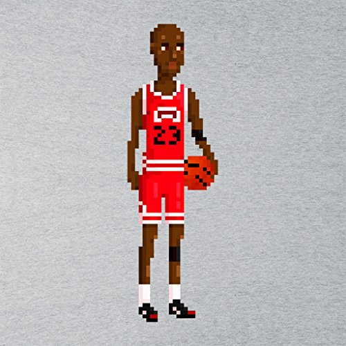 Michael Jordan Body Pixel Women's Vest Heather Grey
