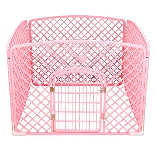 Barrière pour Animaux domestiques, barrière pour Porte d'isolation en résine PP, Petit et Moyen Chiens, chenil - 2 Couleurs/Taille