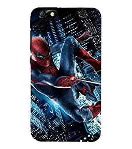 Cartoon, Black, Cartoon and Animation, Printed Designer Back Case Cover for Huawei Honor 4X :: Huawei Glory Play 4X