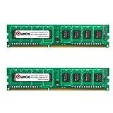 QUMOX 8GB(2x 4GB) DDR3 1600 PC3-12800 PC-12800 (240 PIN) DIMM RAM Desktop-Speicher XMP CL9