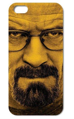 NdB 1362 - Cover Case Custodia per iPhone 4 e 4S Stampa Walter White Heisenberg Nera BrBa - Rigida