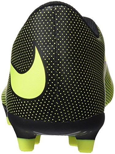 Nike Bravata Ii Fg, Scarpe da Calcio Uomo Nero (Black/volt)