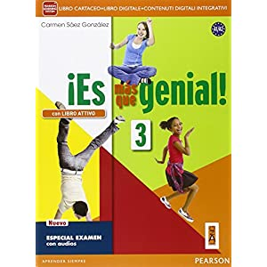 ¡Es mas que genialLIM. Per la Scuola media! Con e-book. Con espansione online. Con libro: 3