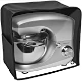 Andrew James Premium Schutzhülle mit großem Sichtfenster für Standmixer Küchenmaschine – Geeignet für alle Kenwood Chef und Andrew James Standmixer - Schwarz