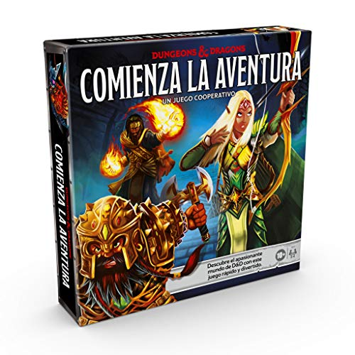 Imagen de Juego de Mesa de Tablero Dungeons & Dragons por menos de 25 euros.