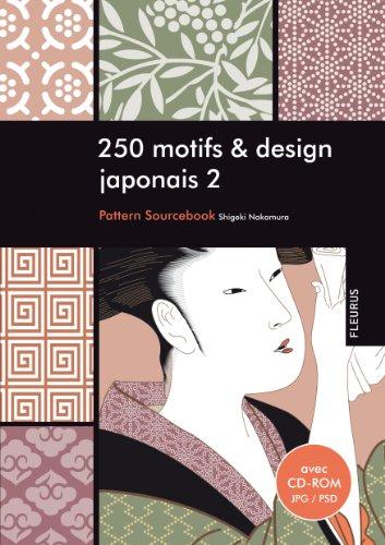 250 motifs et design motif japonais 2 (+ CD-ROM)