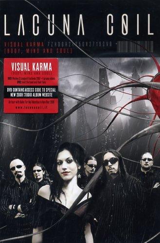 Preisvergleich Produktbild Lacuna Coil - Visual Karma (Body, Mind and Soul) (Limited Edition 2 DVDs )