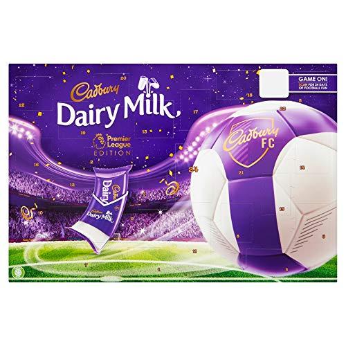 Cadbury Dairy Milk Advent Calendar - Premier League Edition, 200 g, Pack of 4