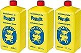 Original PUSTEFIX Seifenblasen (3er Pack Nachfüllflasche 1000ml)