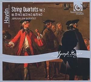 Haydn : Quatuors à cordes op.20 n° 5, op.33 n° 3,  op.76 n° 5