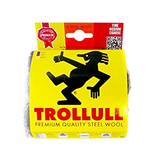 Trollull Steel Wool DIY Pack (3 pads) (Mixed)
