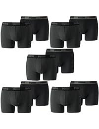 PUMA Homme Basic Boxer Court Sous-vêtements 10 Lot