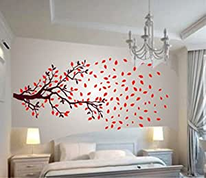 Buy Decals Design Lovely Autumn Tree Wall Sticker PVC Vinyl - Wall sticker images