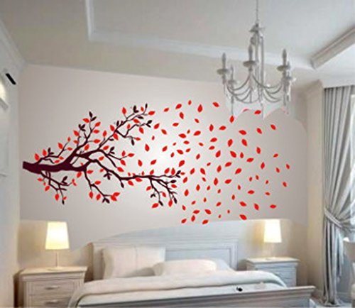 Decals Design 'Lovely Autumn Tree' Wall Sticker (PVC Vinyl, 60 cm x...