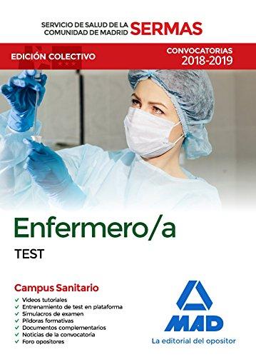 Enfermero/a del Servicio de Salud de la Comunidad de Madrid. Test