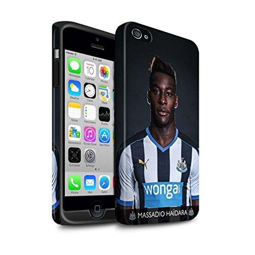 Officiel Newcastle United FC Coque / Matte Robuste Antichoc Etui pour Apple iPhone 4/4S / Pack 25pcs Design / NUFC Joueur Football 15/16 Collection Haïdara