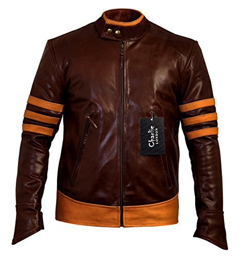 X-Men Origins Vintage Leather Jacket