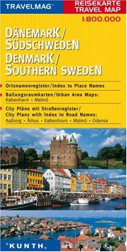 Reisekarte : Dänemark / Südschweden: Alle Infos bei Amazon