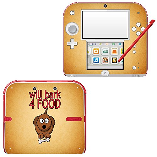 funny-093-will-bark-4-food-skin-sticker-vinyl-cover-with-leather-effect-laminate-and-colorful-design