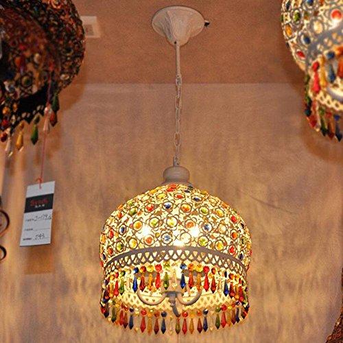 DENG retro bohemio salón restaurante luces lámpara del dormitorio de