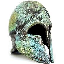 Griego antiguo Bronce Museo réplica de casco corintio ...