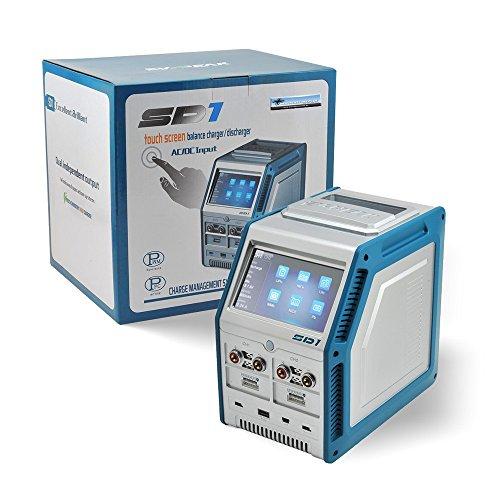 Preisvergleich Produktbild EV-Peak SD1 Ladegerät max 500W 30AMP x 2CH - Profi Ladegerät