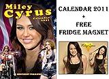 MILEY CYRUS HANNAH MONTANA CALENDAR 2011 + FREE FRIDGE MAGNET